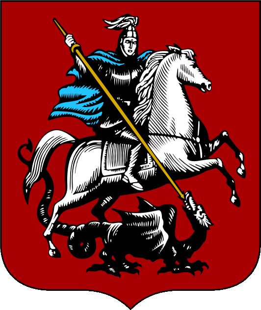 Stadtwappen von Moskau