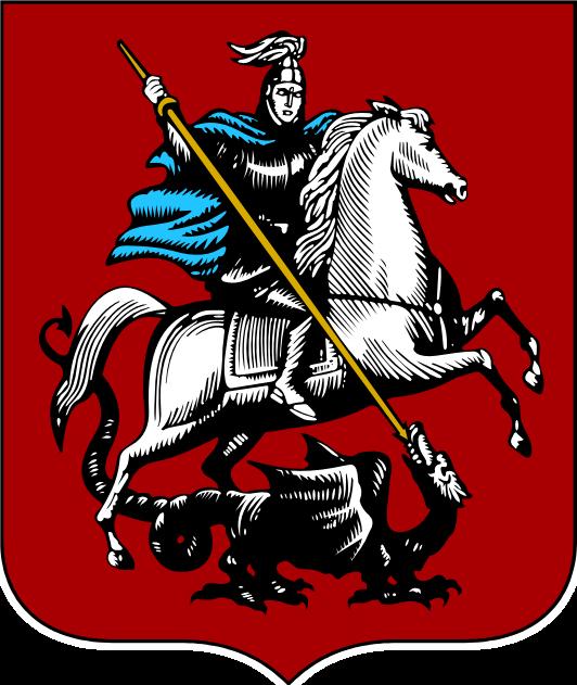 Stadtwappen von Moskau